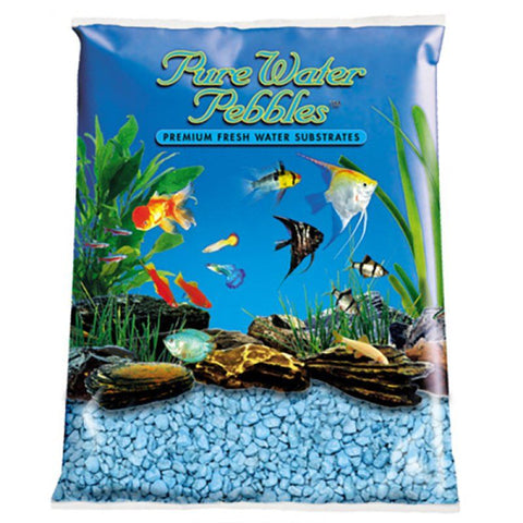 Pure Water Pebbles Aquarium Gravel - Heavenly Blue
