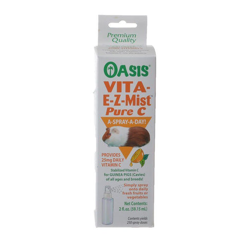 Oasis Vita E-Z-Mist Pure C Spray for Guinea Pigs