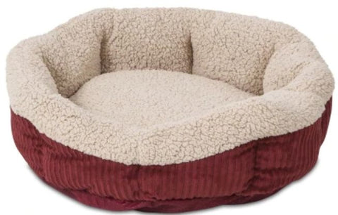 Aspen Pet Self Warming Pet Bed - Spice & Cream