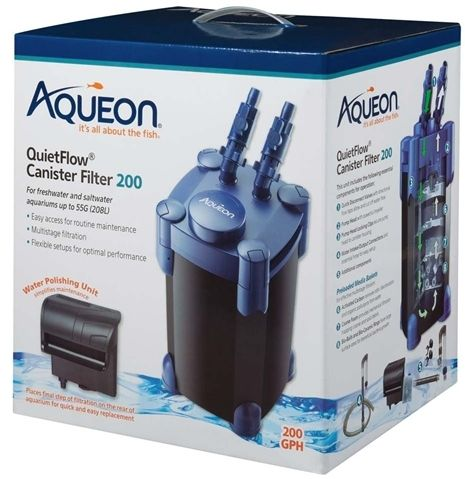 Aqueon QuietFlow Canister Filter 200
