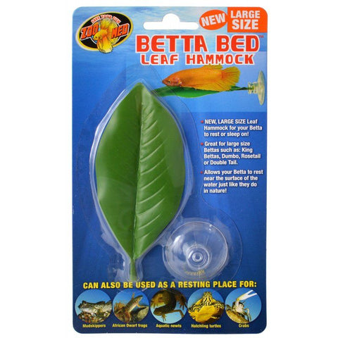 Zoo Med Aquatic Betta Bed Leaf Hammock