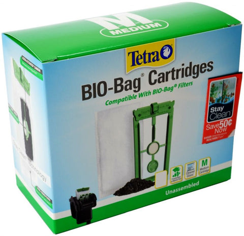 Tetra Bio-Bag Cartridges with StayClean - Medium