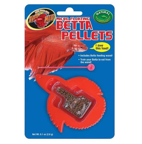 Zoo Med Micro Floating Betta Pellets