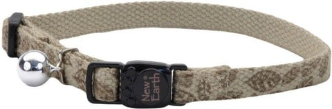 Coastal Pet New Earth Soy Adjustable Cat Collar - Olive Leaf