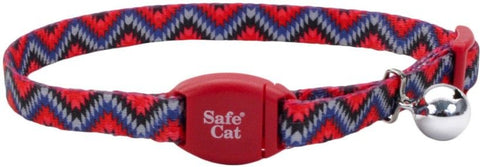 Coastal Pet Safe Cat Breakaway Collar Collar Maroon Diamond