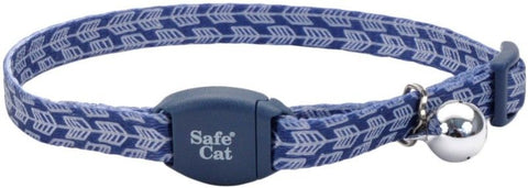 Coastal Pet Safe Cat Breakaway Collar Grey Arrows