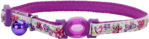 Coastal Pet Safe Cat Glow in the Dark Adjustable Collar Butterfly