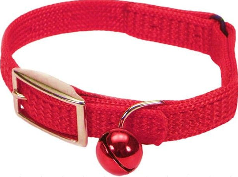 Coastal Pet Sassy Snagproof Nylon Safety Cat Collar Red