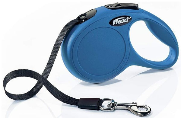 Flexi Classic Blue Retractable Dog Leash