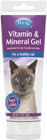 PetAg Vitamin & Mineral Gel for Cats