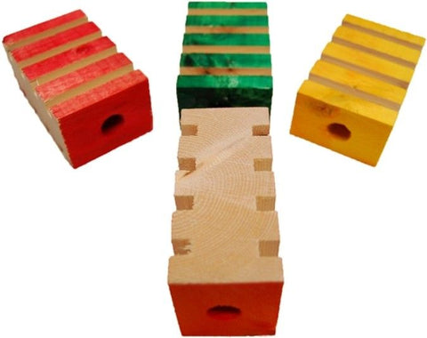 Zoo-Max 4 Groovy Blocks Bird Toy
