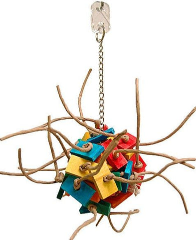 Zoo-Max Fire Ball Bird Toy