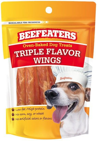 Beafeaters Oven Baked Triple Flavor Wings Dog Treat