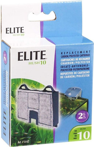 Elite Hush 10 Replacement Carbon / Polyester Cartridges