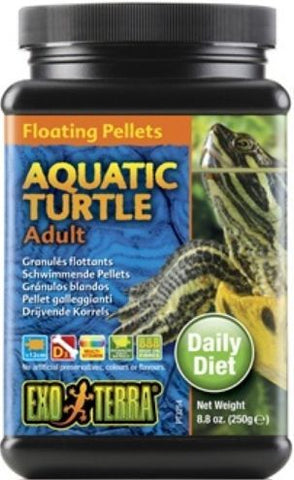 Exo Terra Floating Pellets Adult Aquatic Turtle Food
