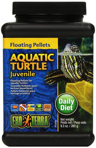 Exo Terra Floating Pellets Juvenile Aquatic Turtle Food