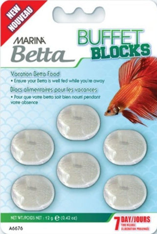 Marina Betta Buffet Blocks 7 Day Vacation Food