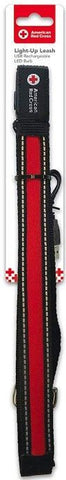 Penn-Plax American Red Cross LED Dog Leash