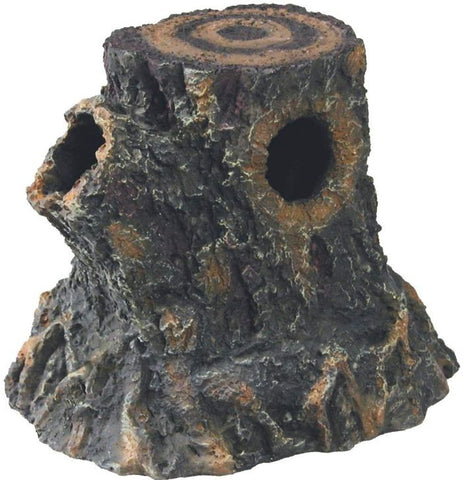 Zilla Decor Basking Stump Den