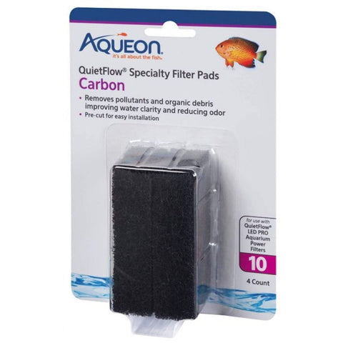 Aqueon Carbon for QuietFlow LED Pro 10