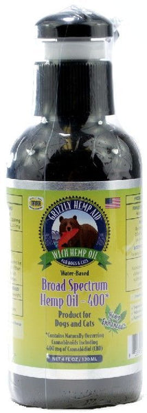 Grizzly Hemp Aid Broad Spectrum Help Oil
