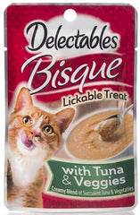 Hartz Delectables Bisque Lickable Treat for Cats - Tuna & Veggies