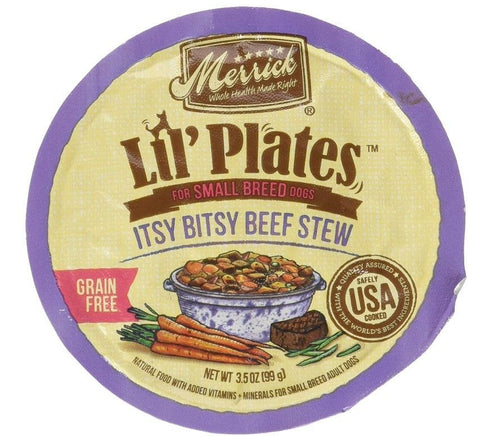 Merrick Lil Plates Grain Free Itsy Bitsy Beef Stew
