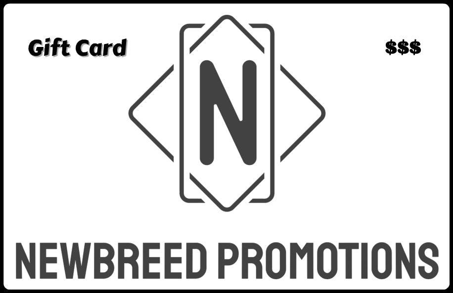 NewBreed Promotions Gift Card
