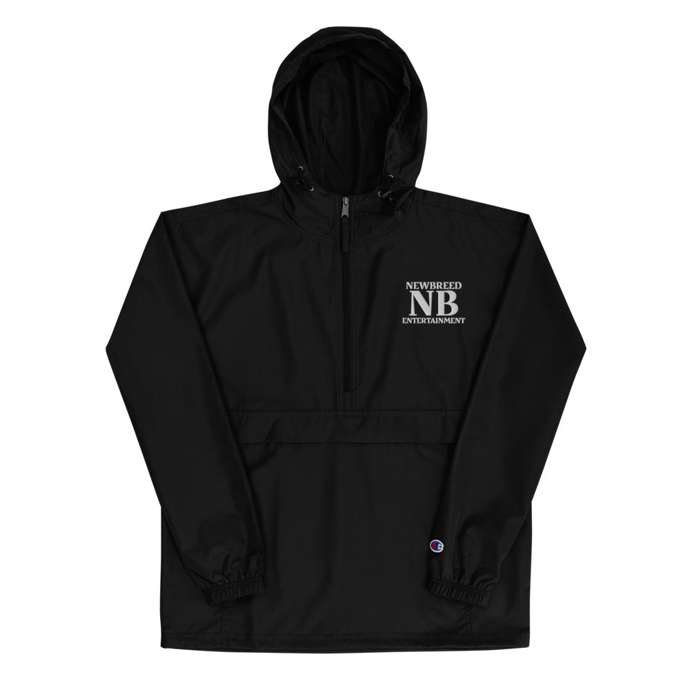 NBE Embroidered Champion Packable Jacket