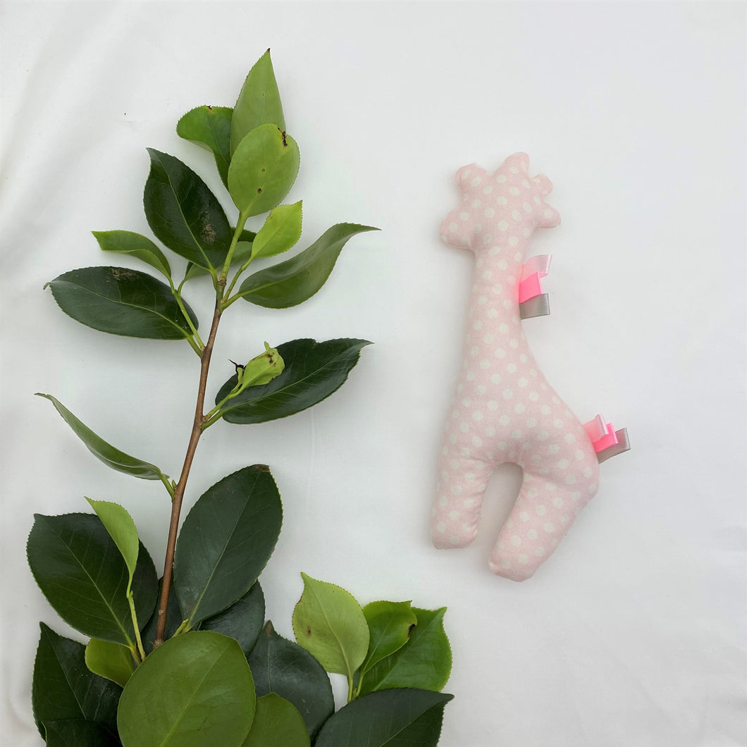 Little Rattle Sensory Pal - Pink