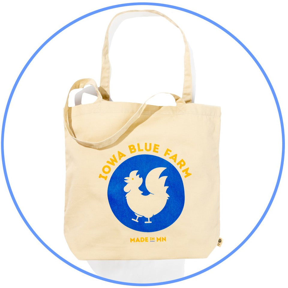 Iowa Blue Farm Iowa Blue Farm Tote Bag