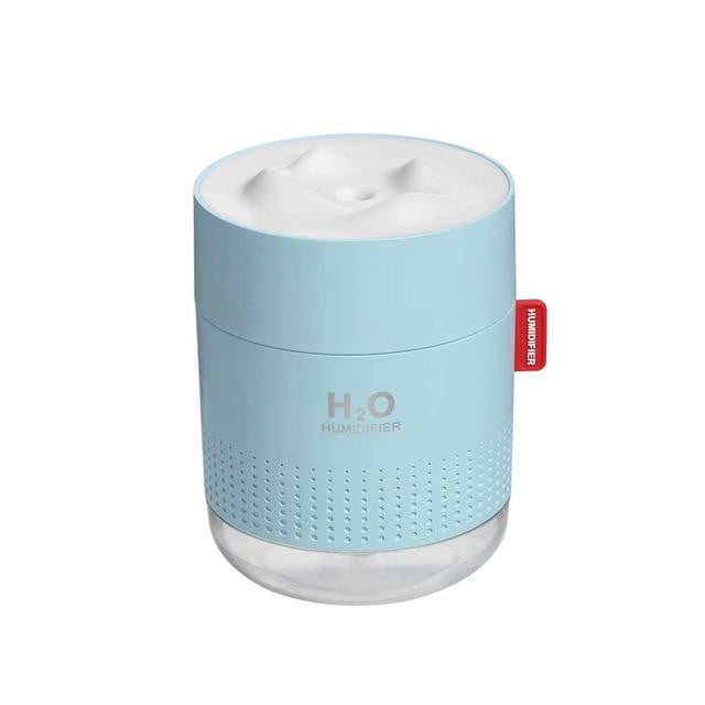 Mini Portable Air Humidifier Blue