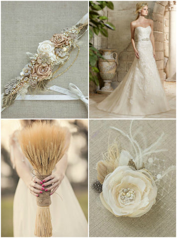 Burlap & Lace wedding ideas, Wedding accessories