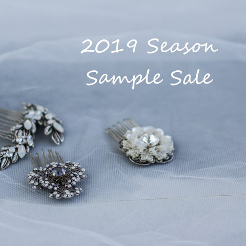 LeFlowers Bridal sample sale - Handmade wedding accessories