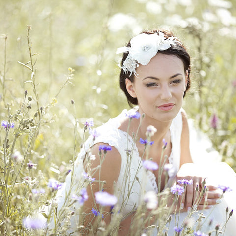 Bridal hair accessories by LeFlowers Bridal