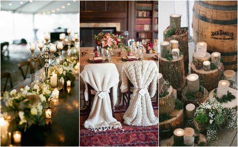 Wedding decor ideas, winter wedding 2017-2018