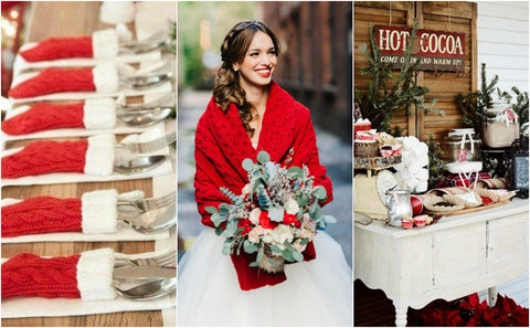 Winter wonderland wedding ideas 2017-2018
