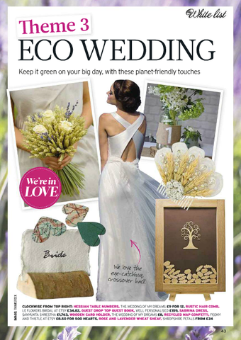 LeFlowersBridal featured in Perfect Wedding Magazine