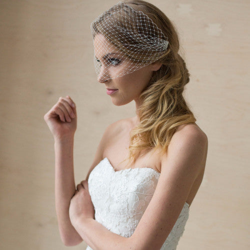 Bridal Veil, wedding veil, Bridal Birdcage veil, wedding birdcage veil