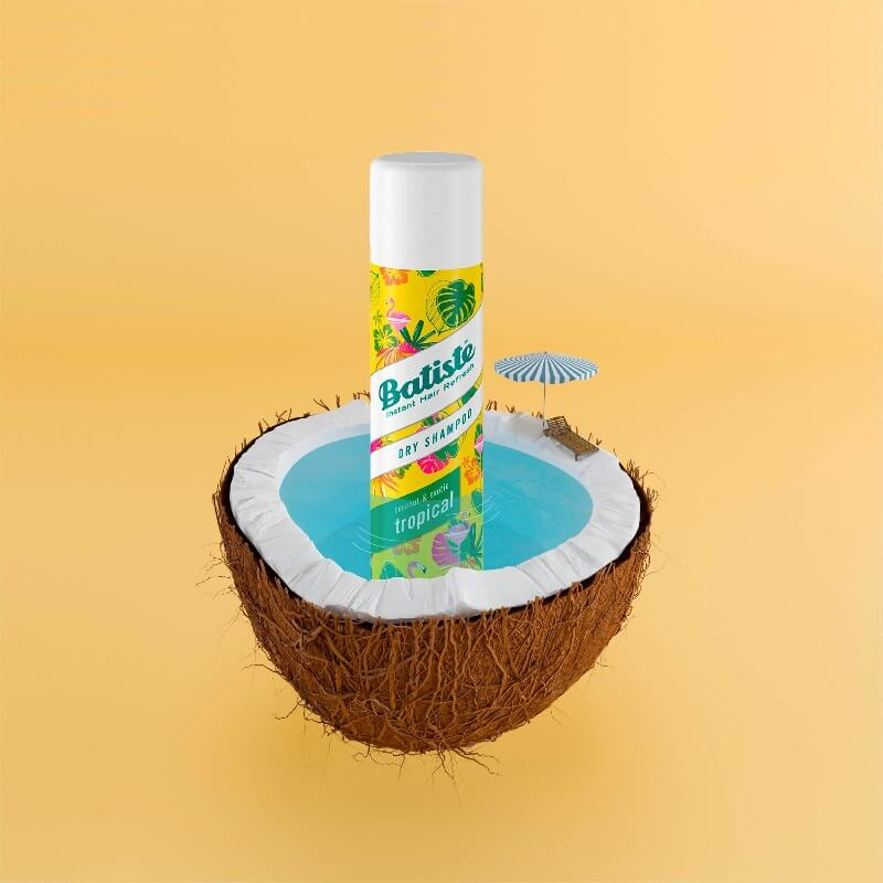 Batiste Shampoo Seco Tropical 200ml