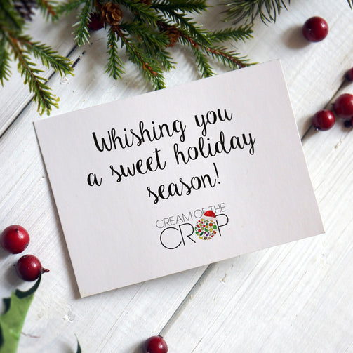 Cream Of The Crop Christmas Gift Card