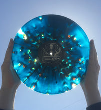 "Load image into Gallery viewer, Funeral Leech - ""Death Meditation"" Aqua Blue / Clear Merge with Splatter LP (Third Press)"