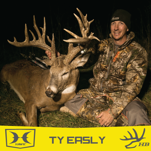 "TY EASLY, HEARTLAND BOWHUNTER - 188"" NON-TYPICAL"