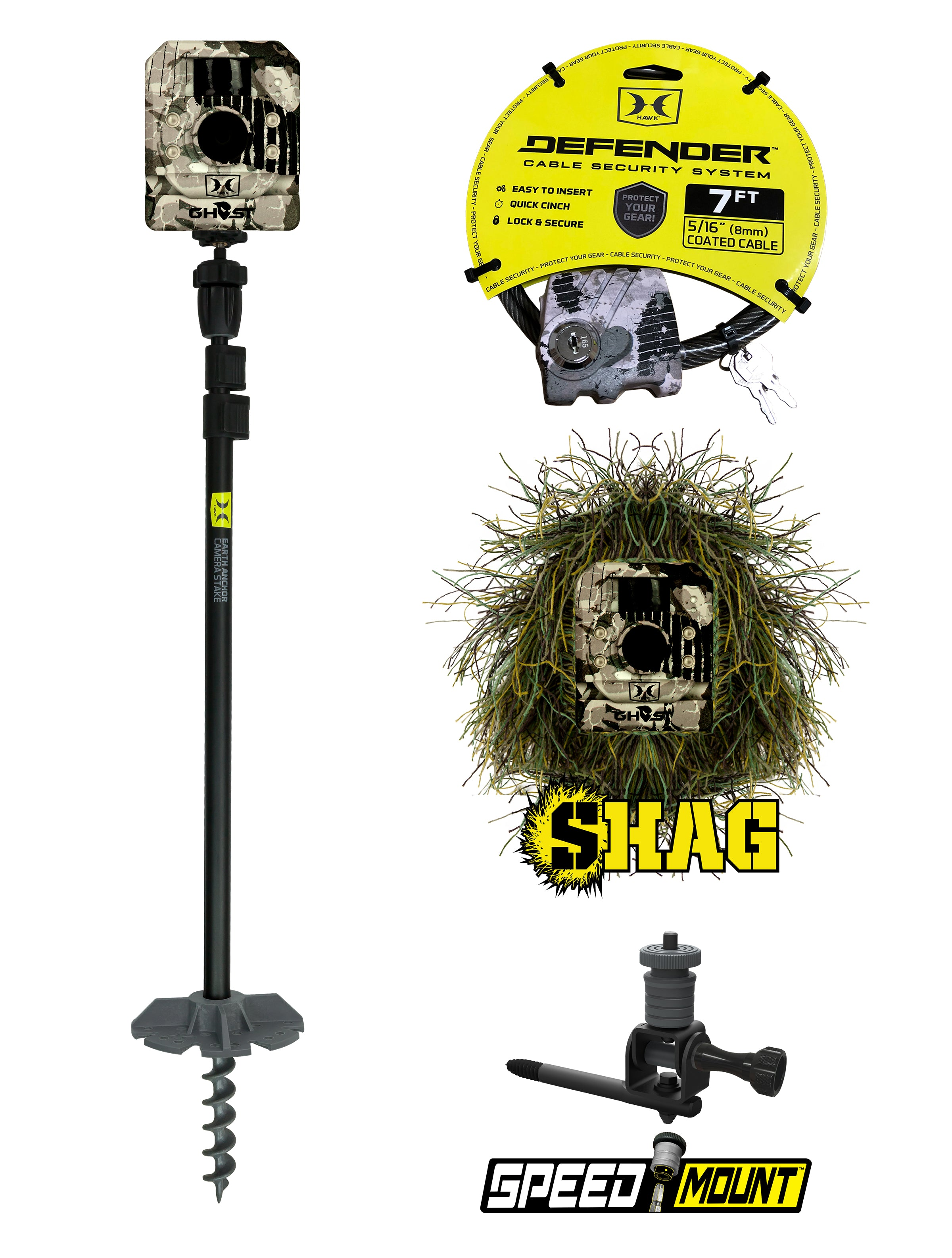 HAWK® OFFERS NEW INNOVATIVE GAME CAMERA ACCESSORIES FOR 2018