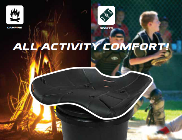 HAWK® ERGO™ 360º BUCKET SEAT FOR CAMPING / SPORTS