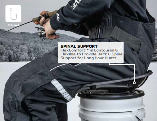 HAWK® ERGO™ 360º BUCKET SEAT FOR FISHING