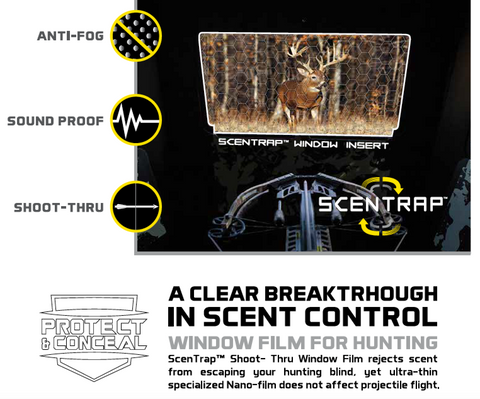 Hawk® SCENTRAP™ Window System