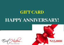 Load image into Gallery viewer, Anniversary  Gift Card