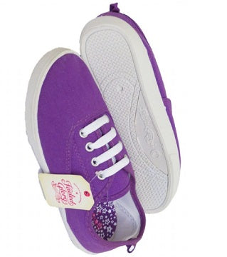 Girls Purple Sneakers