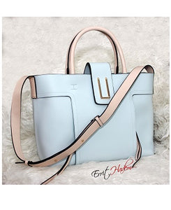 2Pcs Blue Handbag